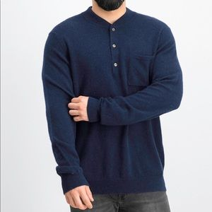 Tasso Elba Lux Lounge 100% Cashmere Sweater small
